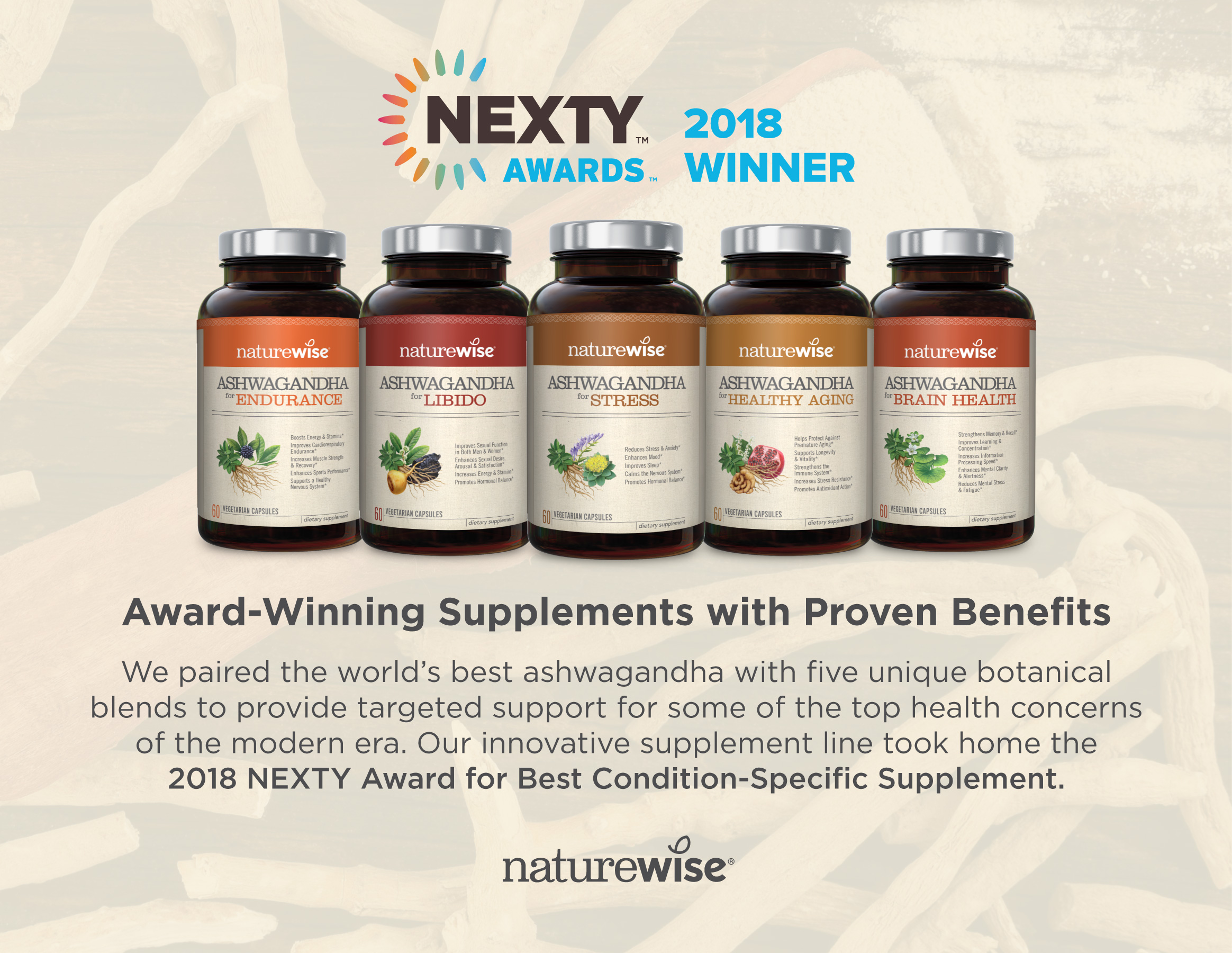 Award-Winning Supplements with Proven Benefits
